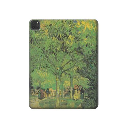 S3748 フィンセント・ファン・ゴッホ パブリックガーデンの車線 Van Gogh A Lane in a Public Garden iPad Pro 11 (2018,2020), iPad Air 4 (2020), iPad Air (2020) タブレットケース