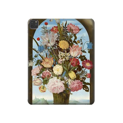 S3749 花瓶 Vase of Flowers iPad Pro 11 (2018,2020), iPad Air 4 (2020), iPad Air (2020) タブレットケース