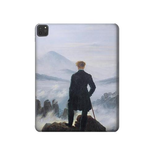S3789 霧の海の上の放浪者 Wanderer above the Sea of Fog iPad Pro 11 (2018,2020), iPad Air 4 (2020), iPad Air (2020) タブレットケース