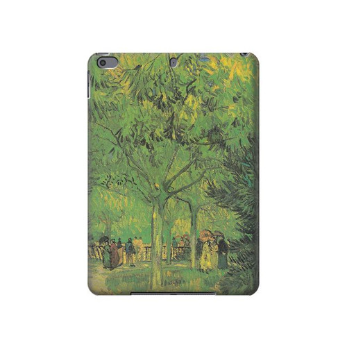 S3748 フィンセント・ファン・ゴッホ パブリックガーデンの車線 Van Gogh A Lane in a Public Garden iPad Air 3, iPad Pro 10.5, iPad 10.2 (2019,2020) タブレットケース