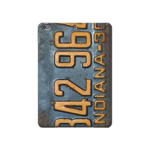 S3750 ヴィンテージ車のナンバープレート Vintage Vehicle Registration Plate iPad Air 3, iPad Pro 10.5, iPad 10.2 (2019,2020) タブレットケース
