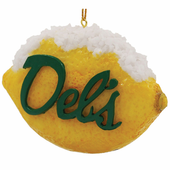 Del's Lemon Ornament