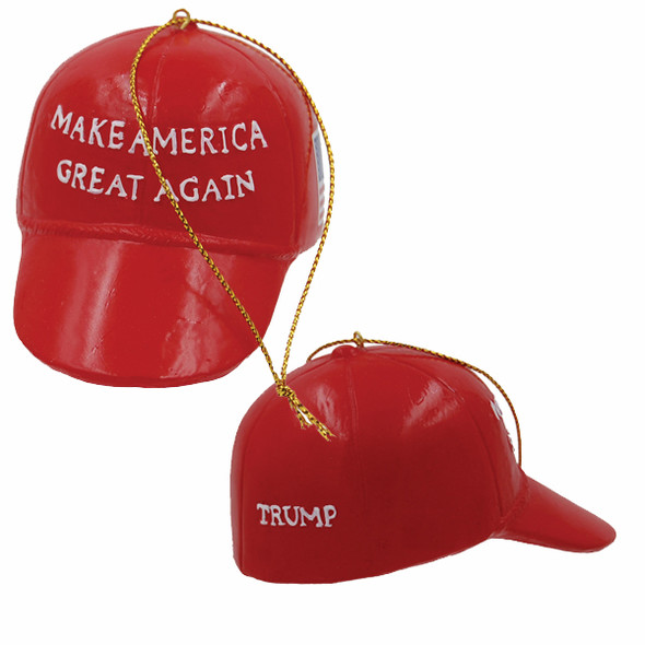 Trump MAGA Hat Ornament