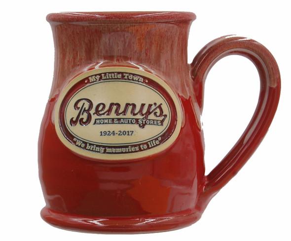 """Handthrown 14 oz. mug Made in the USA 4 1/2"""" Tall"""