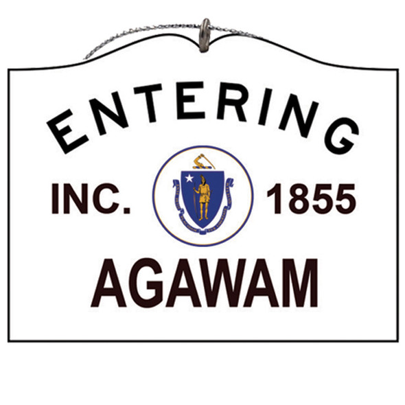Entering Agawam