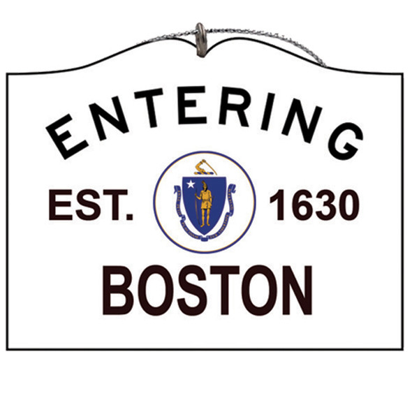 Entering Boston