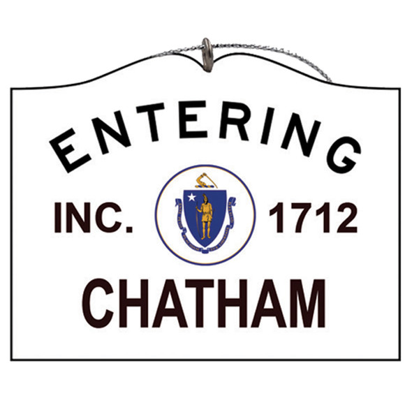 Entering Chatham
