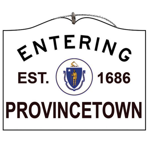 Entering Provincetown