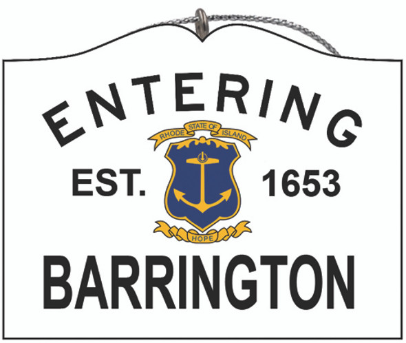 Entering Barrington