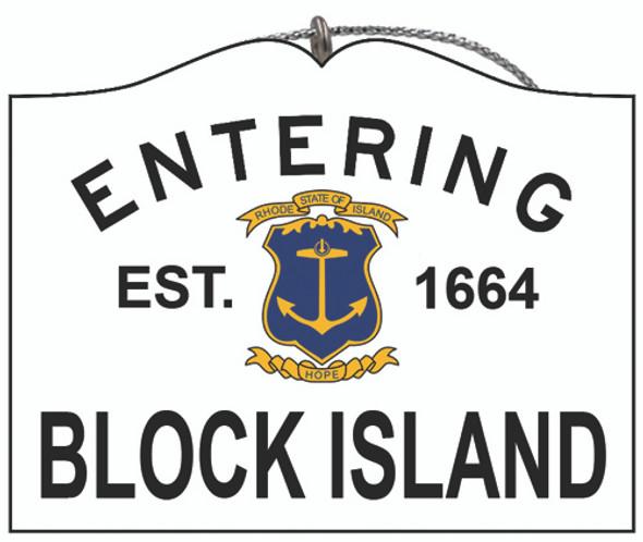 Entering Block Island