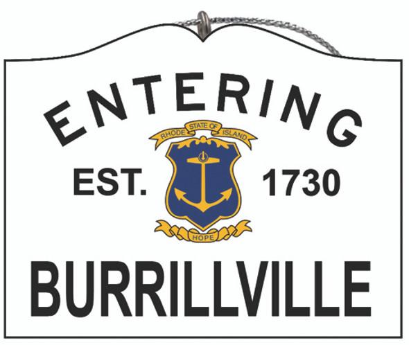 Entering Burrillville
