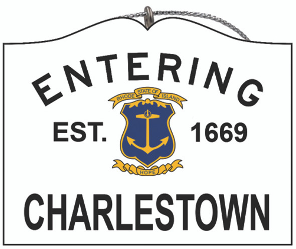 Entering Charlestown