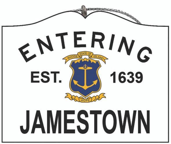 Entering Jamestown