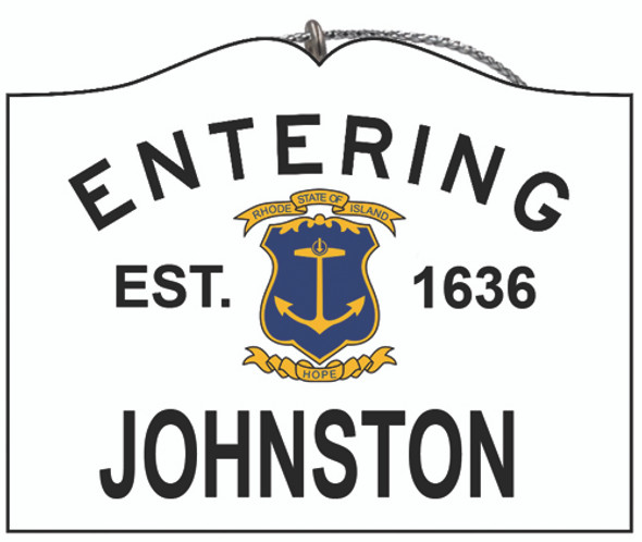 Entering Johnston