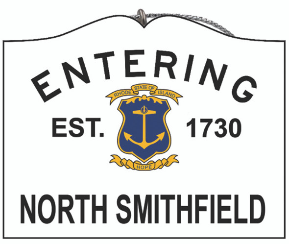 Entering North Smithfield