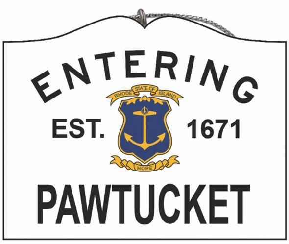 Entering Pawtucket