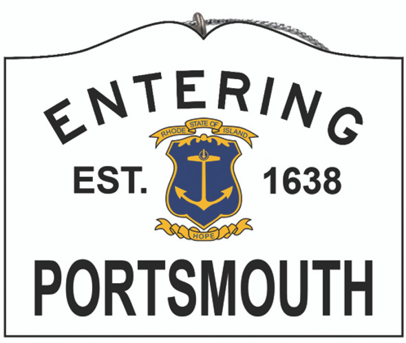 Entering Portsmouth