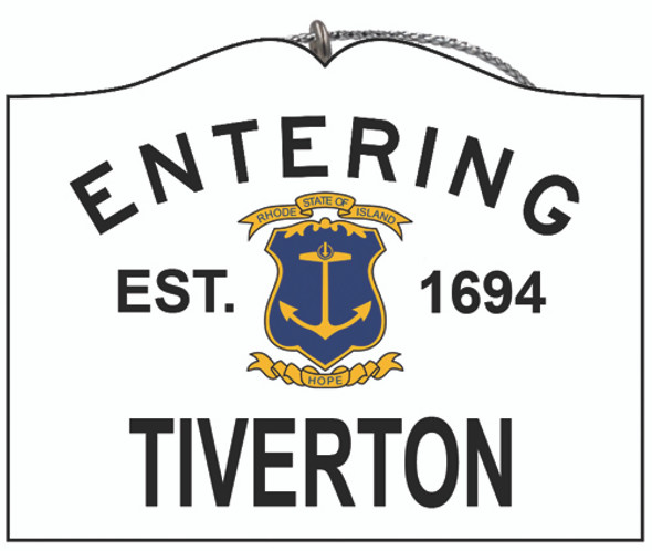 Entering Tiverton