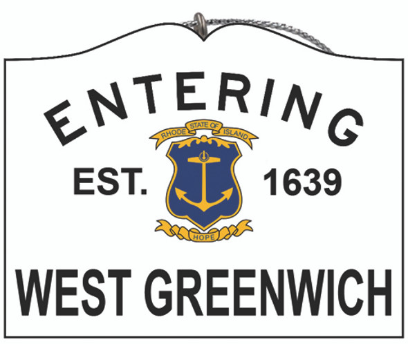 Entering West Greenwich