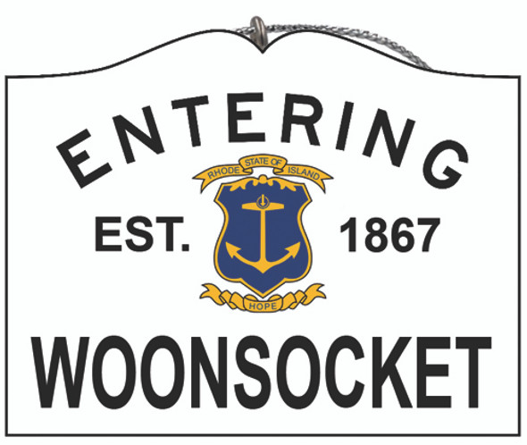 Entering Woonsocket