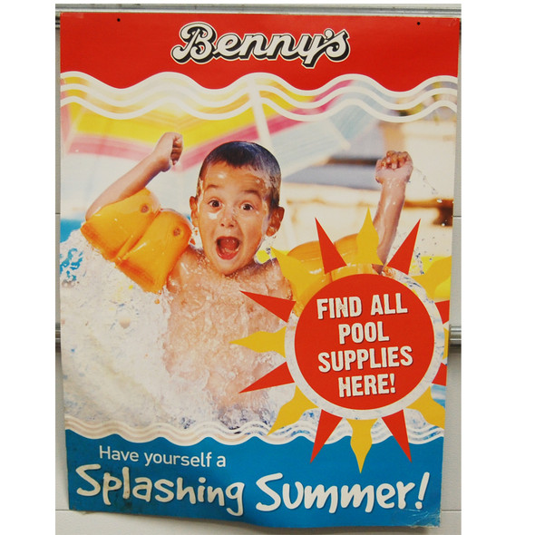 "Benny's  Splashing Summer 30""x40"""