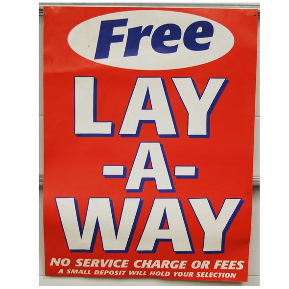 "Benny's Lay A Way 30""x40"""