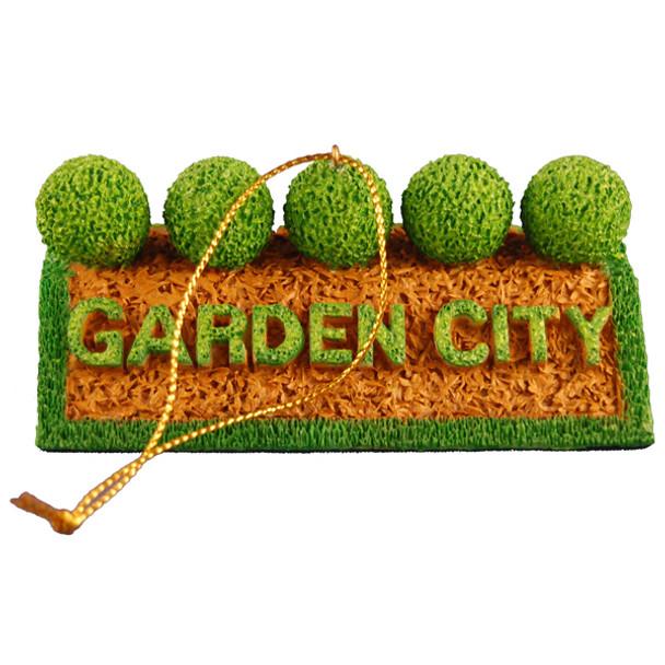 Garden City ornament