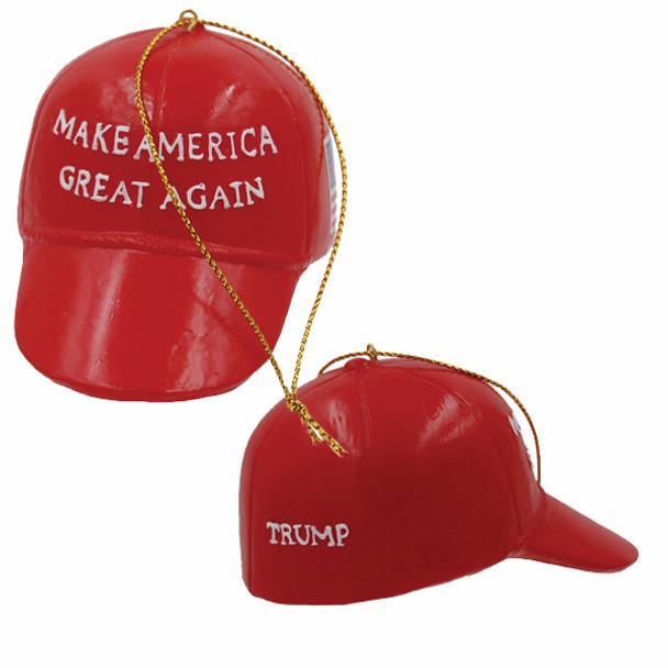 Trump MAGA Hat Ornament