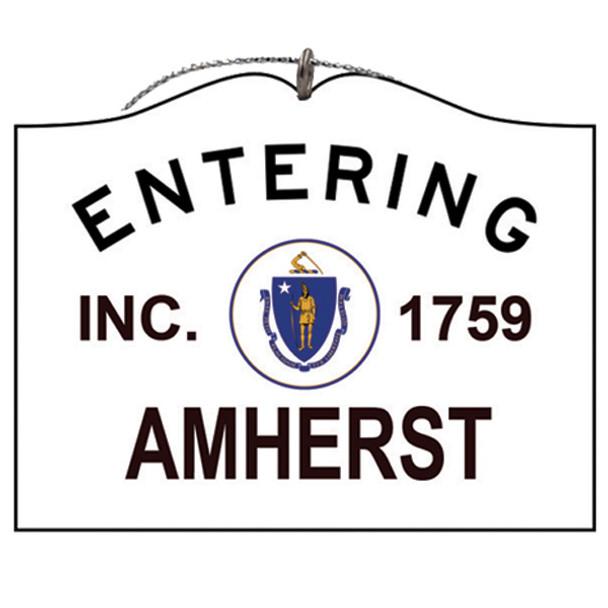 Entering Amherst