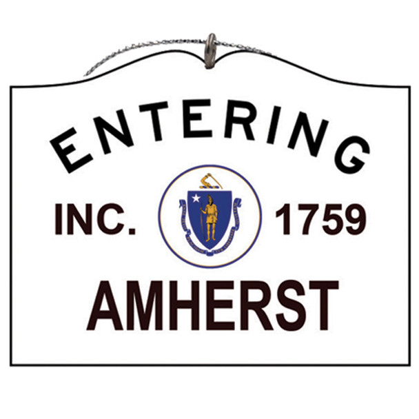 Entering Amherst