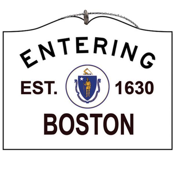 Entering Boston