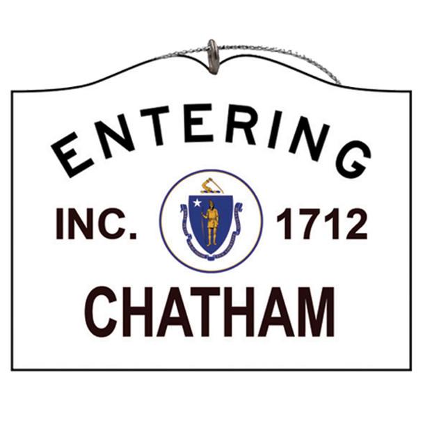 Entering Chatham