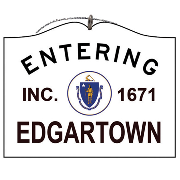 Entering Edgartown