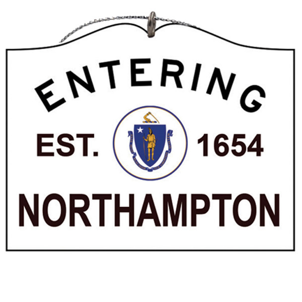 Entering Northampton