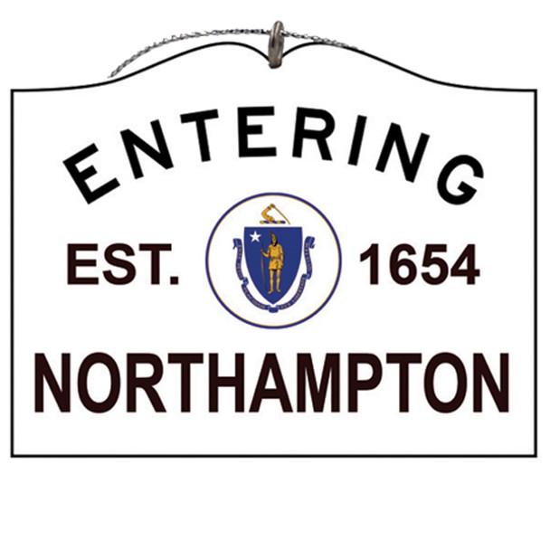 Entering Northampton