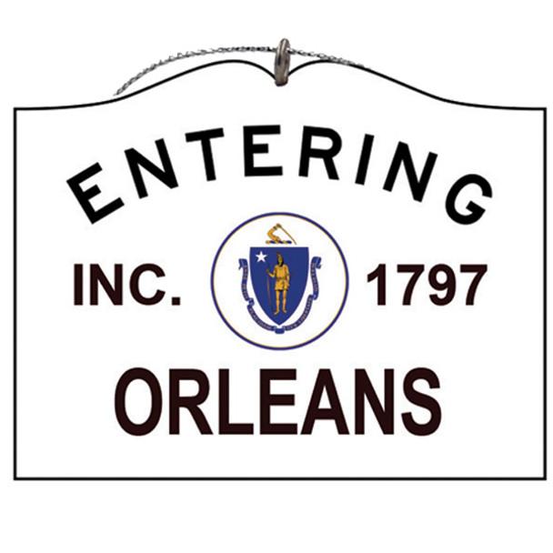 Entering Orleans