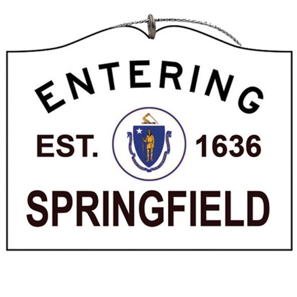Entering Springfield