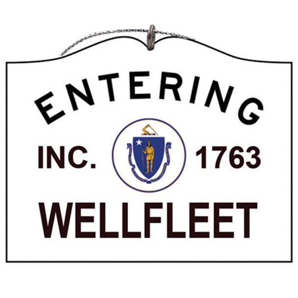 Entering Wellfleet