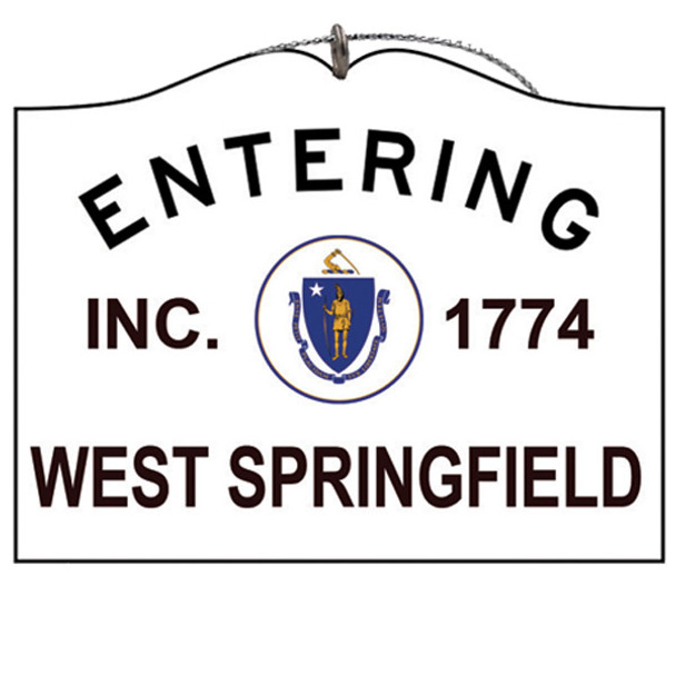 Entering West Springfield