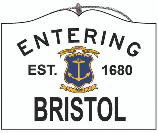 Entering Bristol