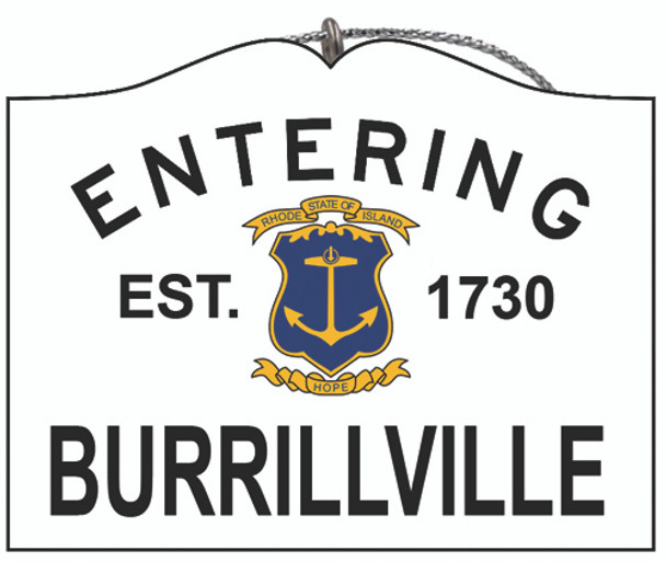Entering Burrillville