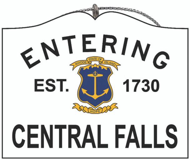 Entering Central Falls