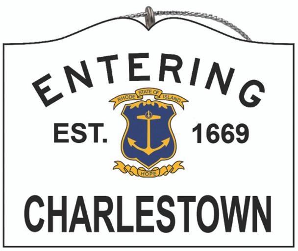 Entering Charlestown