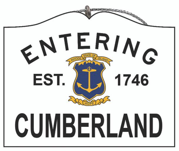 Entering Cumberland