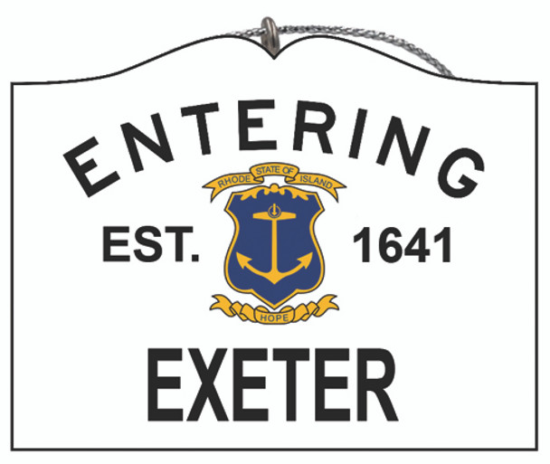 Entering Exeter
