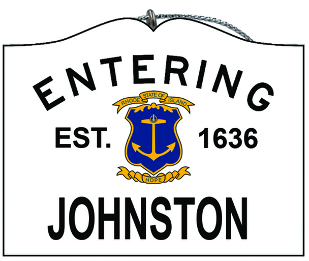 Entering Johnston