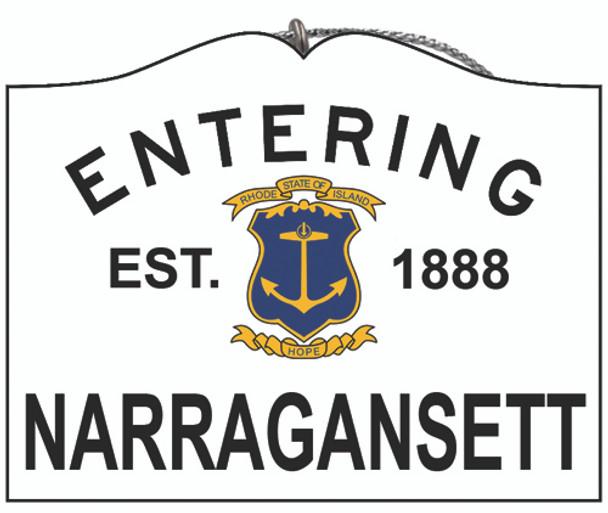 Entering Narragansett