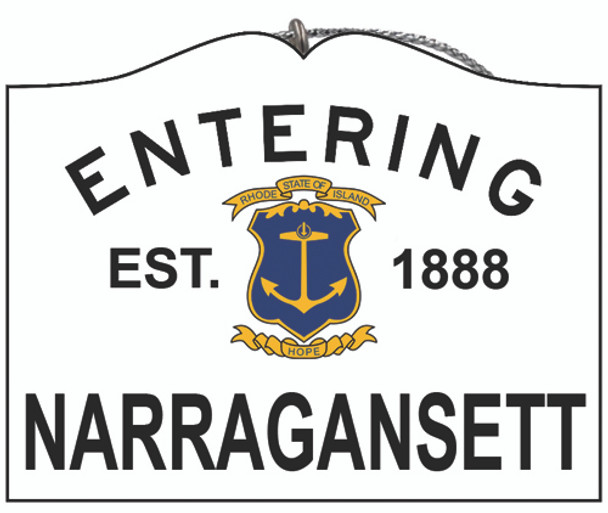 Entering Narragansett