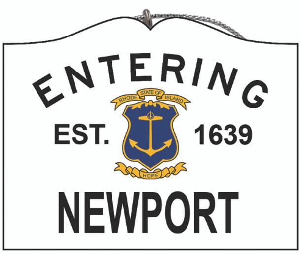 Entering Newport