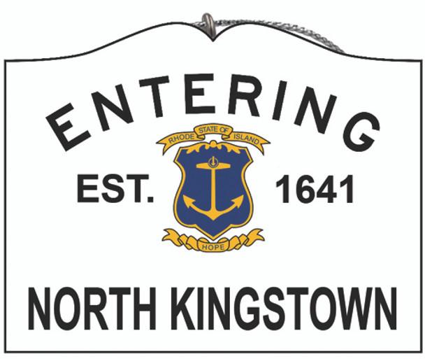 Entering North Kingstown